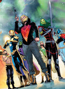 Guardians of the Galaxy (Earth-616) from Guardians of the Galaxy Vol 6 11 001
