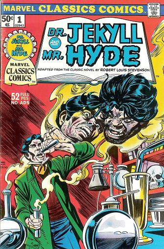 Marvel Classics Comics Series Featuring: Dr. Jekyll and Mr. Hyde Vol 1 1