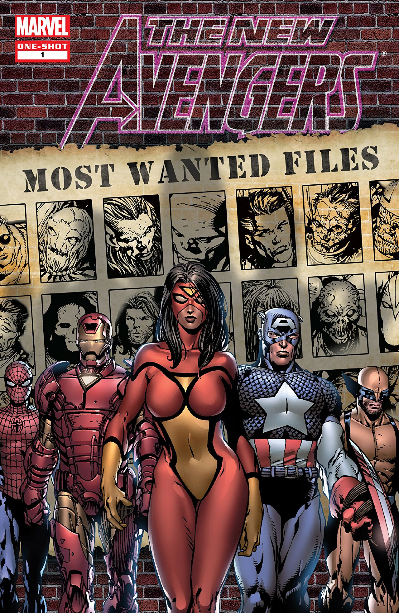 New Avengers Most Wanted Files Vol 1 1