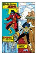 New Mutants Annual Vol 1 5 Pinup 1