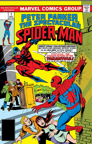 Peter Parker, The Spectacular Spider-Man Vol 1 1.jpg