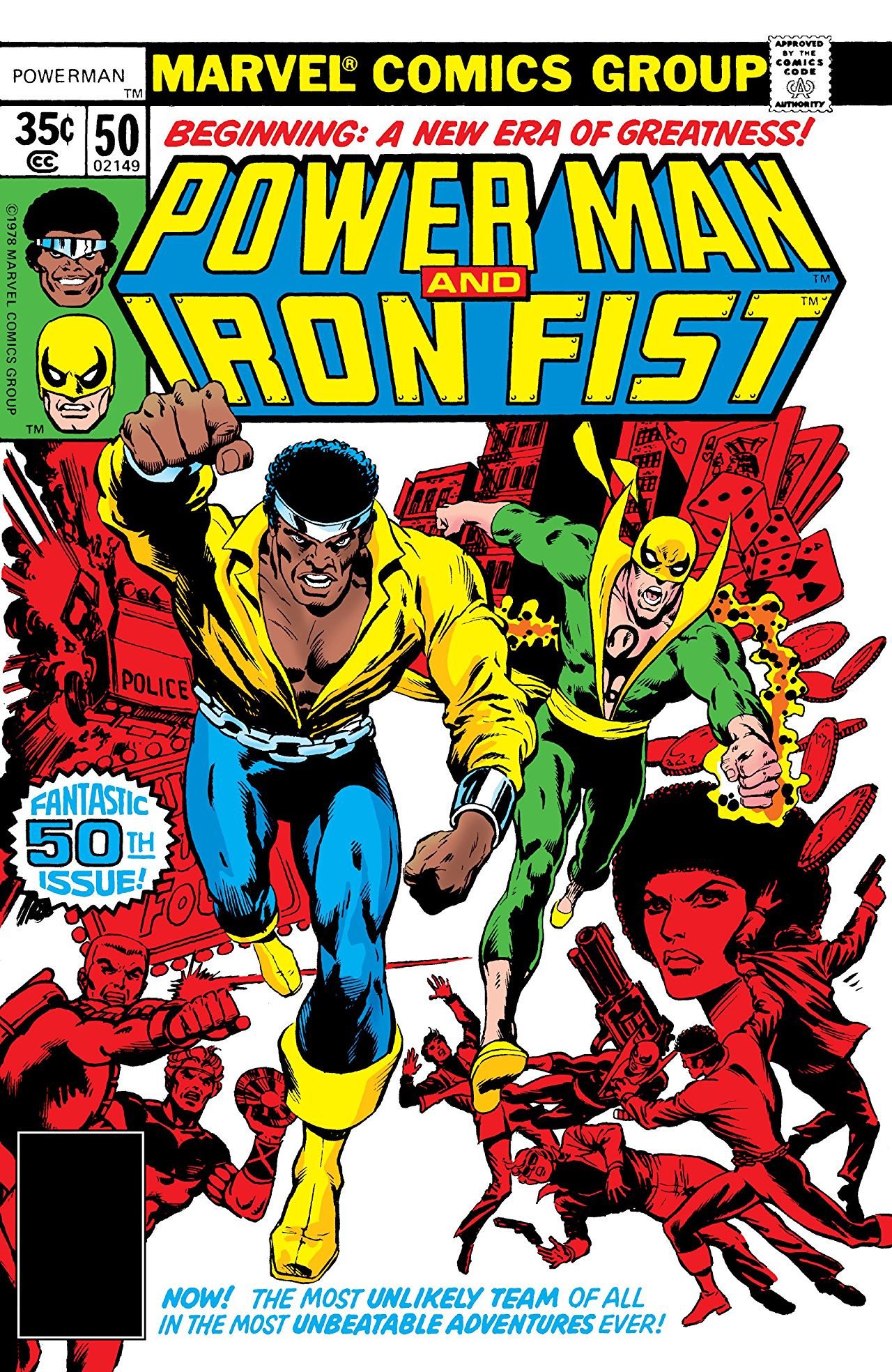 Power Man and Iron Fist Vol 1
