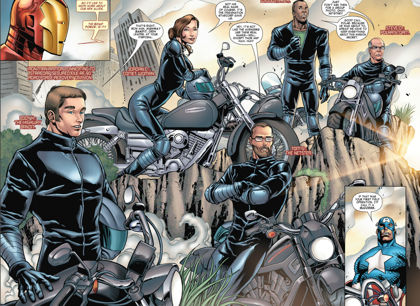 Road Force (Earth-616)/Gallery