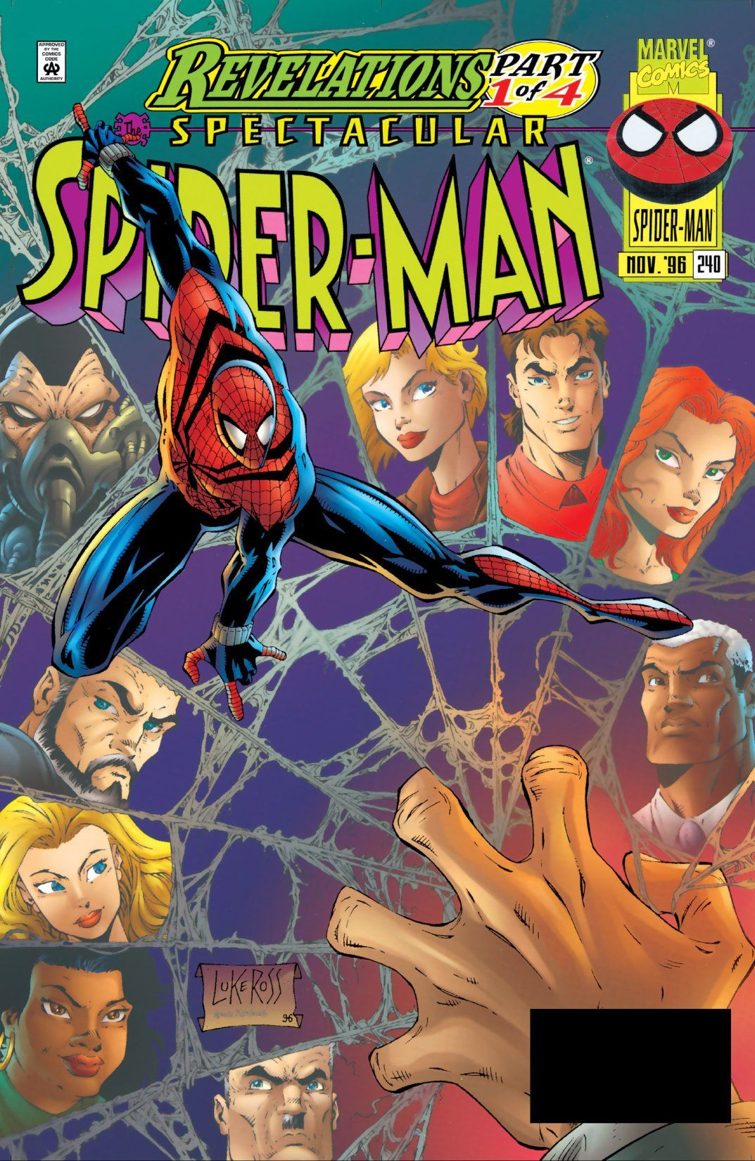 Spectacular Spider-Man Vol 1 240