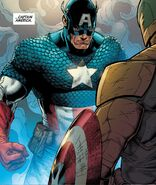 Steven Rogers (Earth-616) vs. Steven Rogers (Earth-61311) from Secret Empire Vol 1 10 001