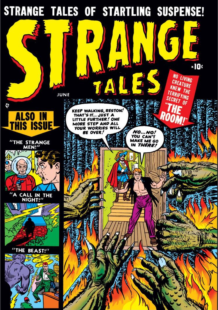 Strange Tales Vol 1 1