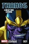 Thanos A God Up There Listening Infinite Comic Vol 1 1