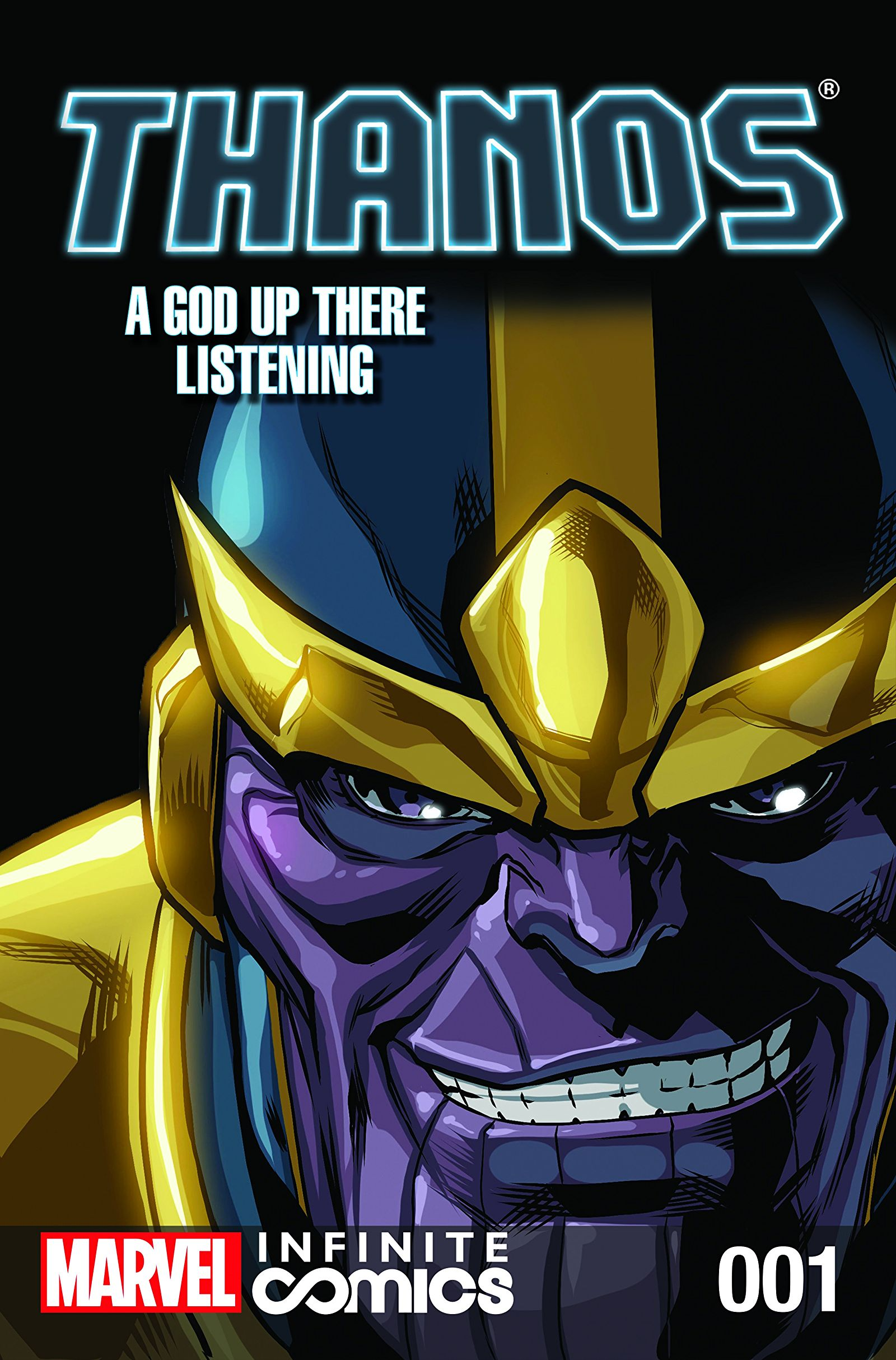 Thanos: A God Up There Listening Infinite Comic Vol 1 1