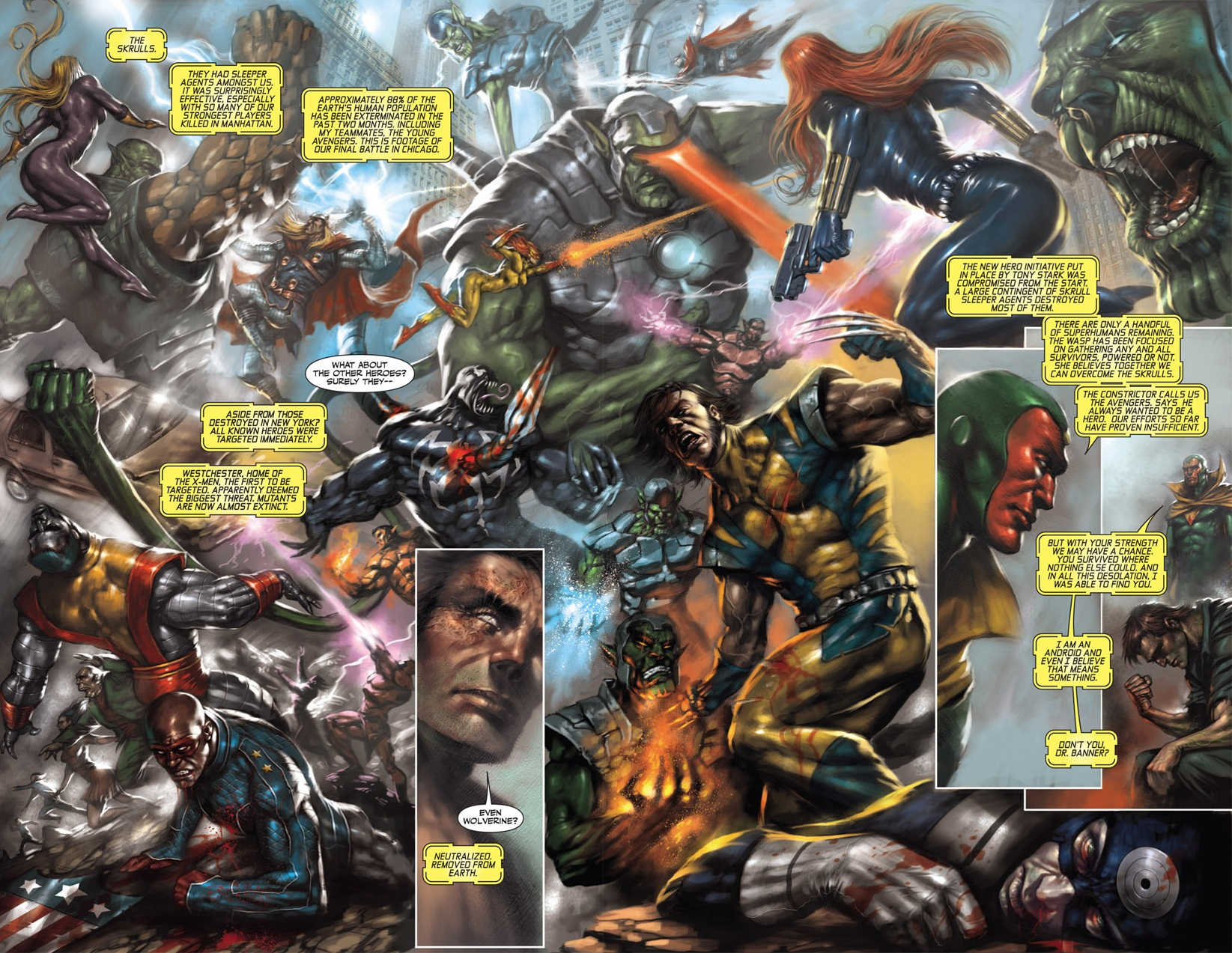 Thunderbolts (Earth-10223)/Gallery