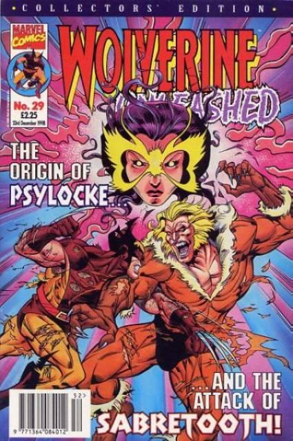 Wolverine Unleashed Vol 1 29
