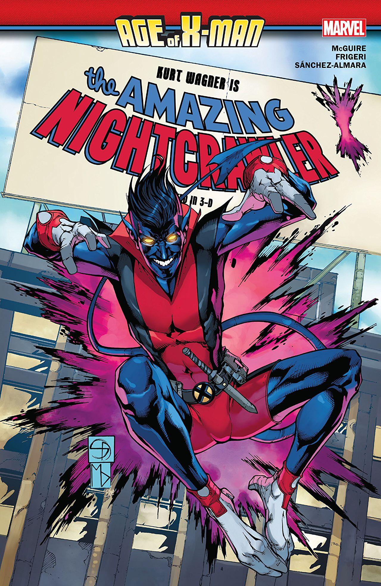 Age of X-Man: The Amazing Nightcrawler TPB Vol 1