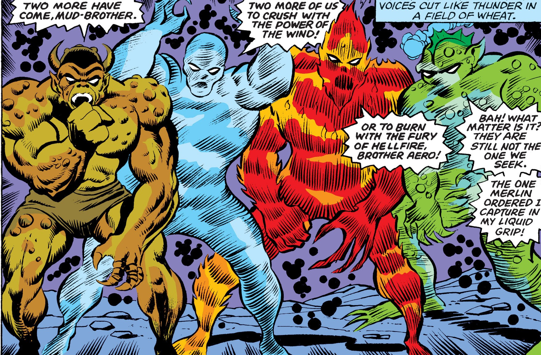 Brothers Four (Earth-616)