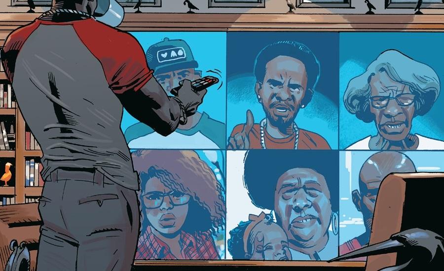 Captain America's Hotline (Earth-616)