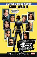 Civil War II Vol 1 0 Agents of S.H.I.E.L.D. Season 3 Variant