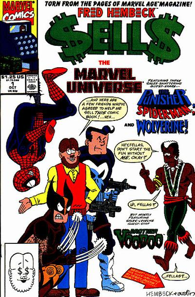 Fred Hembeck Sells the Marvel Universe Vol 1