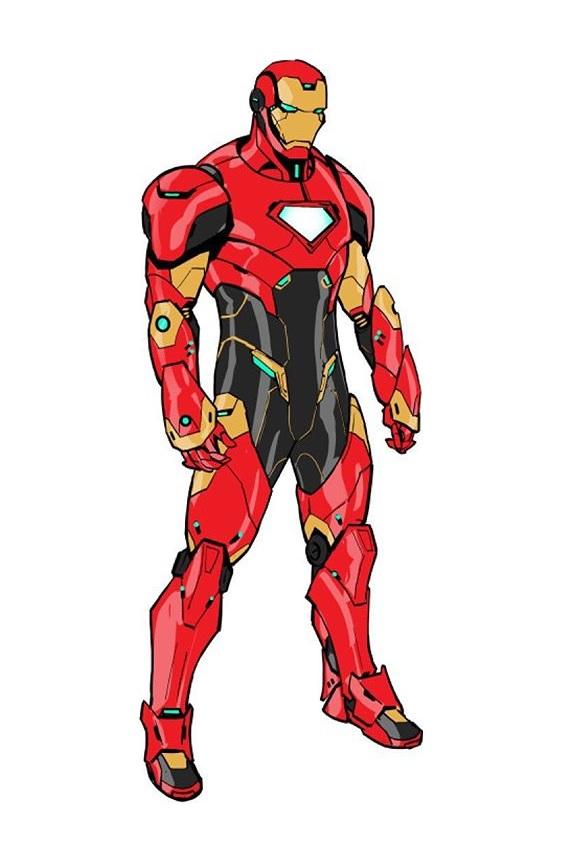 Iron Man Armor Model 64