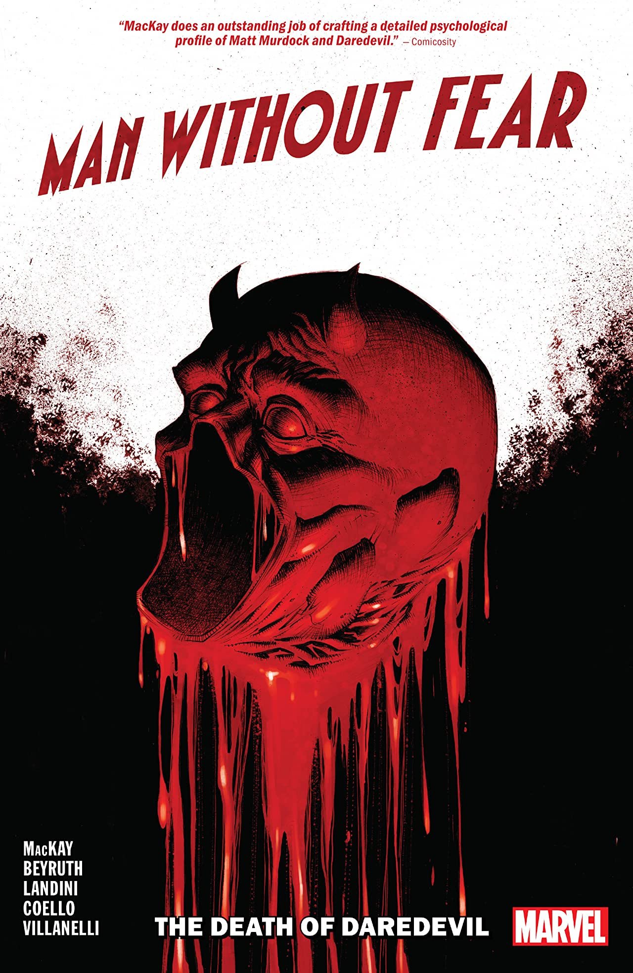 Man Without Fear TPB Vol 1 1: The Death of Daredevil