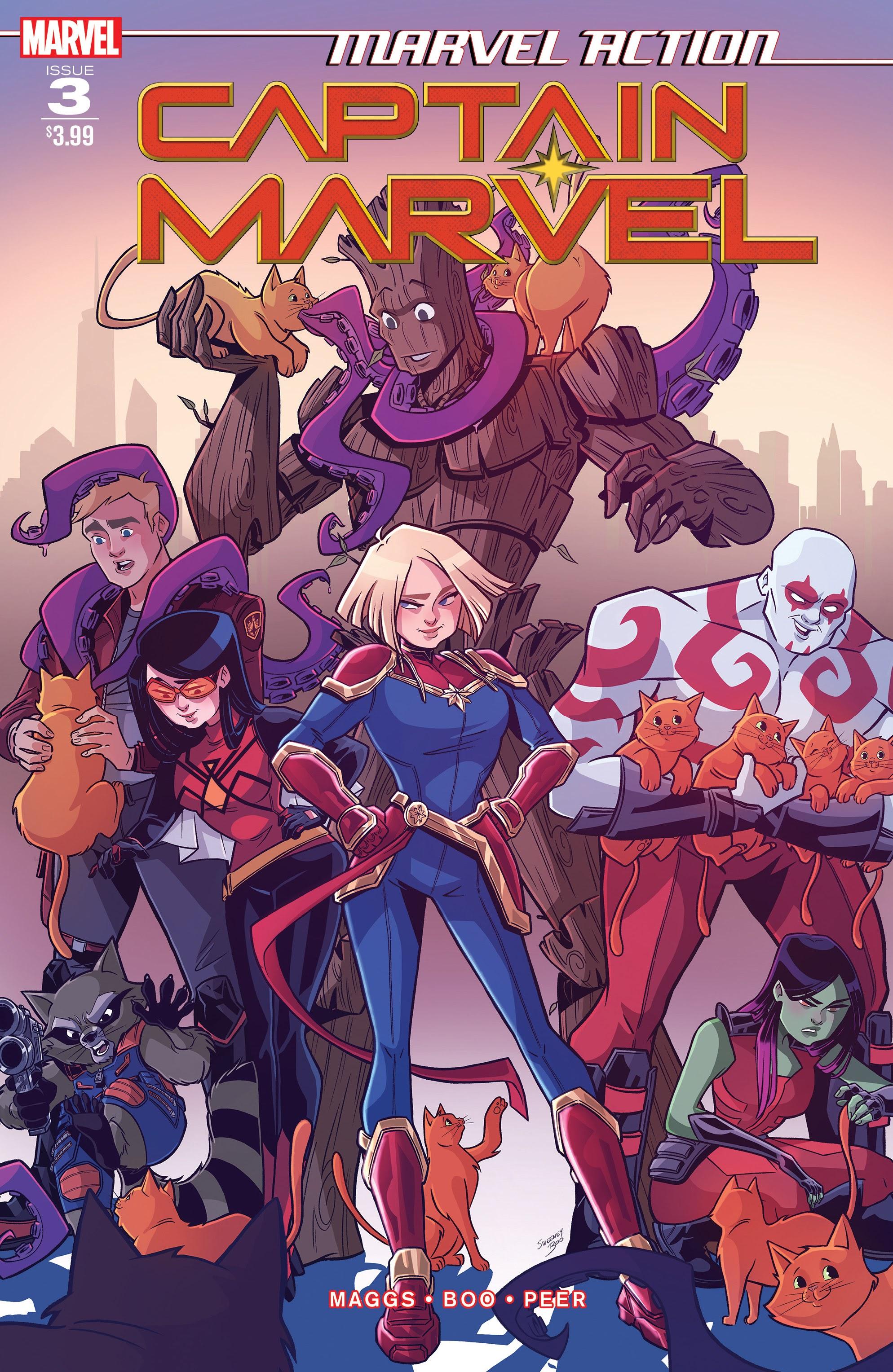Marvel Action: Captain Marvel Vol 1 3
