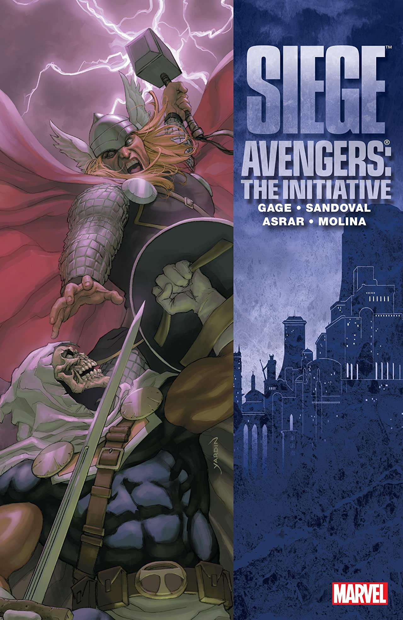 Siege: Avengers - The Initiative TPB Vol 1 1