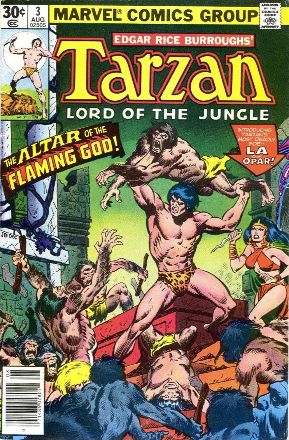 Tarzan Vol 1 3