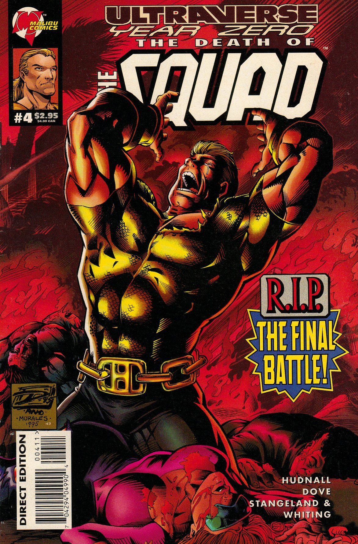Ultraverse Year Zero: The Death of the Squad Vol 1 4