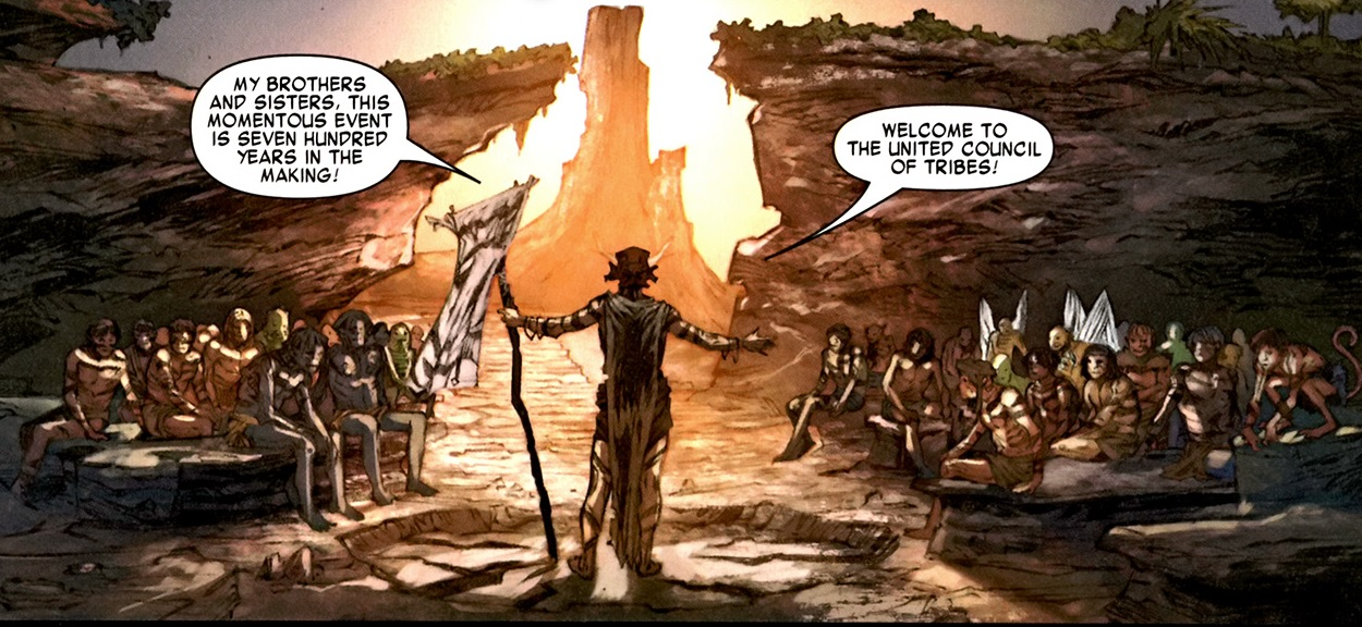 United Council of Tribes (Earth-616)