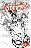 Amazing Spider-Man Vol 4 1 JSC Exclusive Black and White Variant