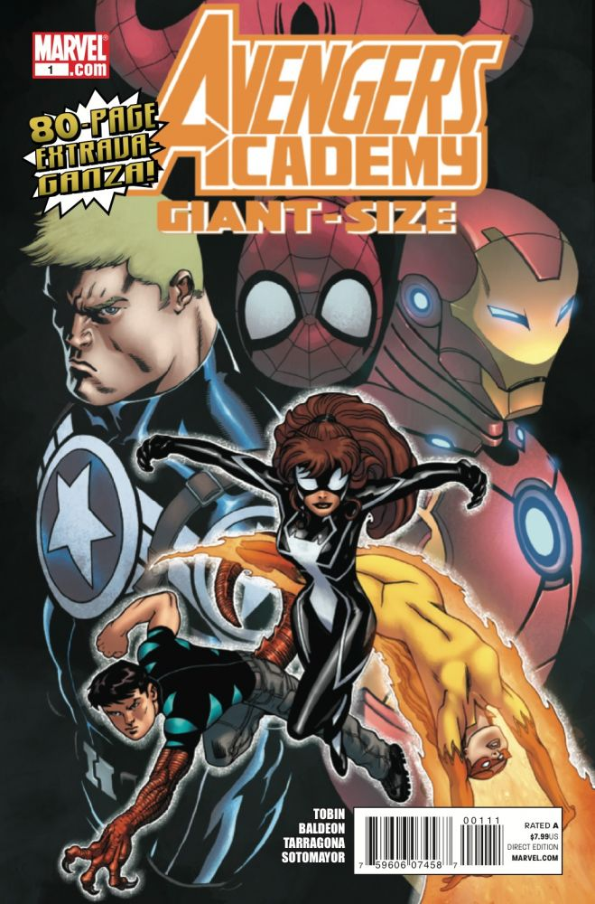 Avengers Academy Giant-Size Vol 1 1