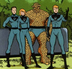 Fantastic Four (Earth-7642)/Gallery
