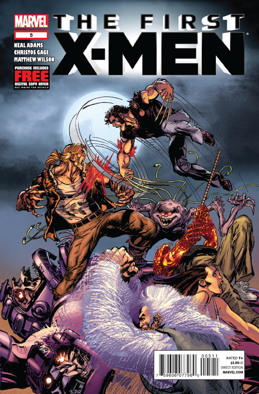 First X-Men Vol 1 5