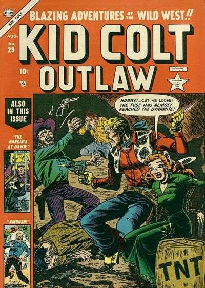 Kid Colt Outlaw Vol 1 29