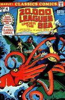 Marvel Classics Comics Series Featuring 20,000 Leagues Under the Sea Vol 1 1