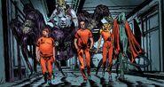 Norman Osborn (Earth-616), Pryor Cashman (Earth-616), Ai Apaec (Earth-616), June Covington (Earth-616) and Xirdal (Earth-616) from Osborn Vol 1 2 0001