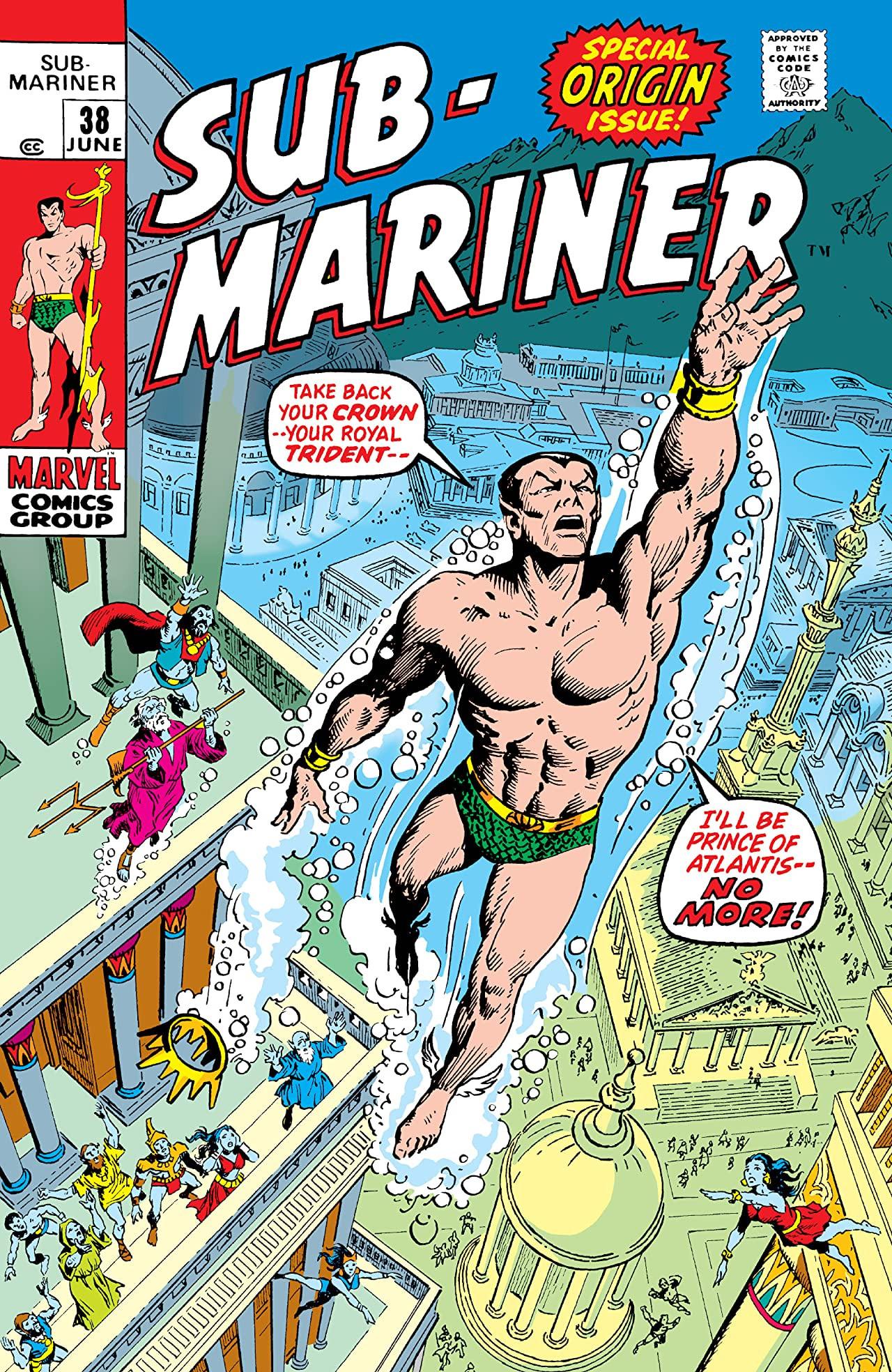 Sub-Mariner Vol 1 38