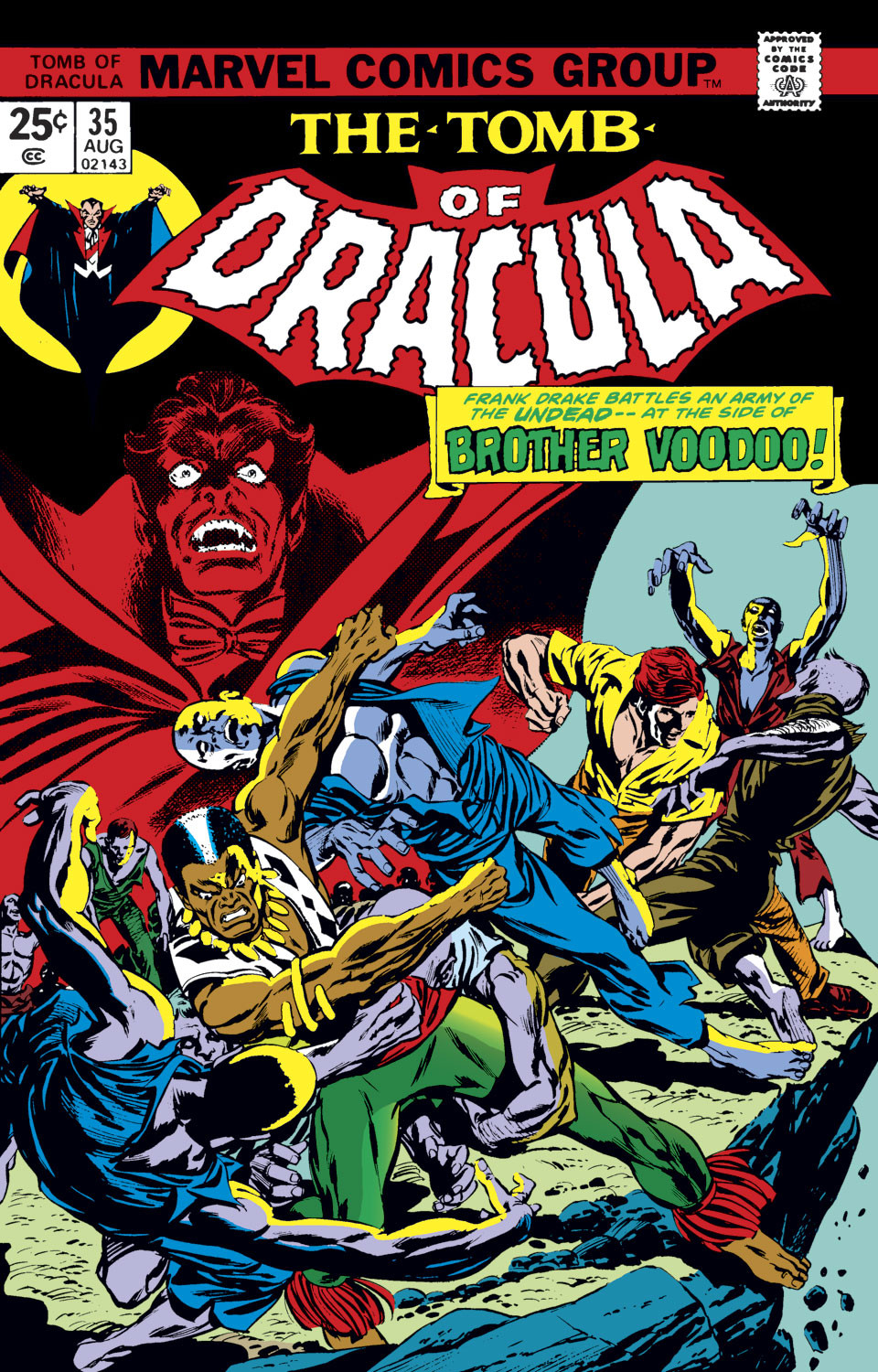 Tomb of Dracula Vol 1 35