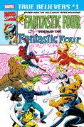 True Believers Fantastic Four vs. the New Fantastic Four Vol 1 1