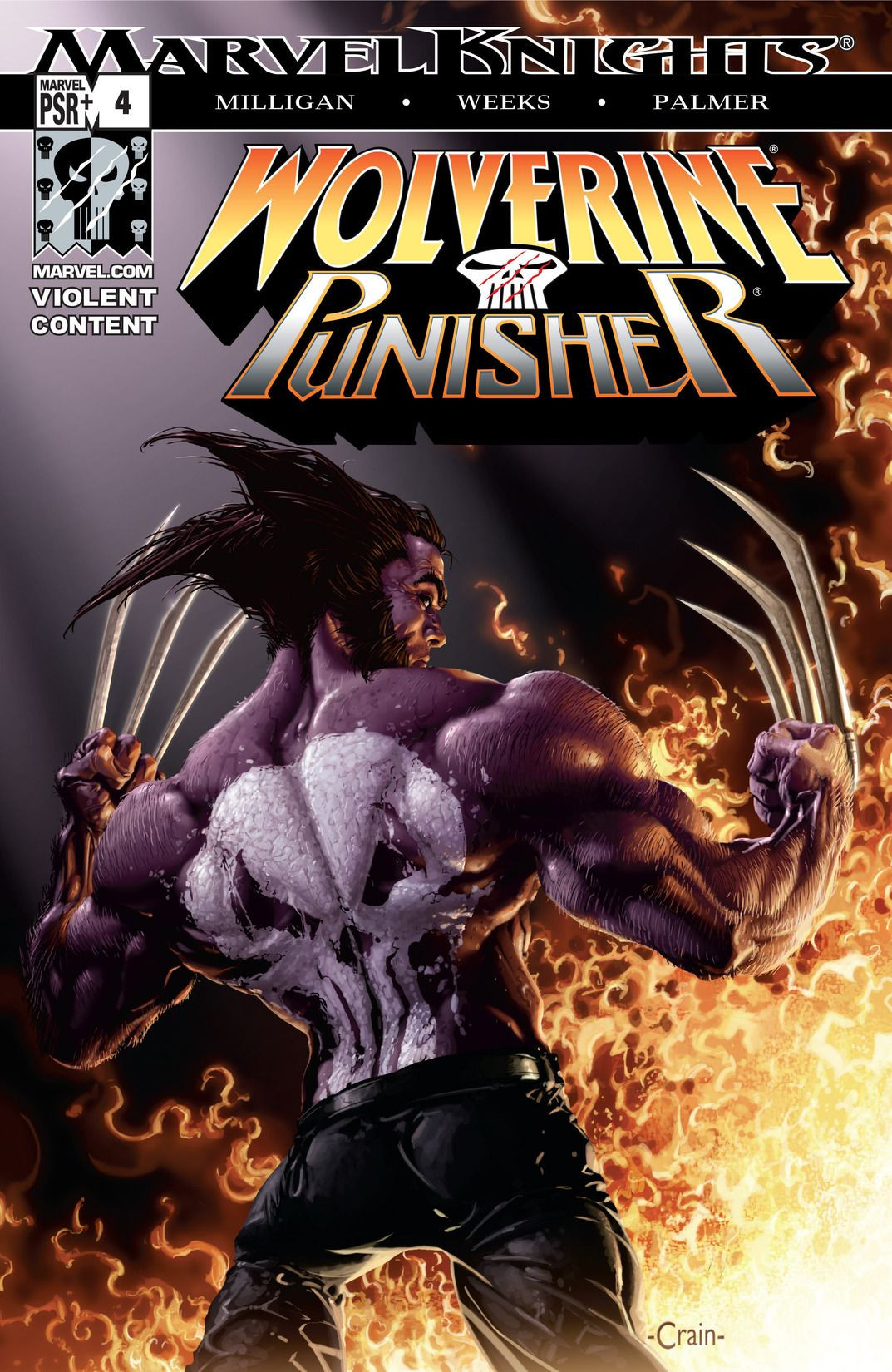 Wolverine/Punisher Vol 1 4