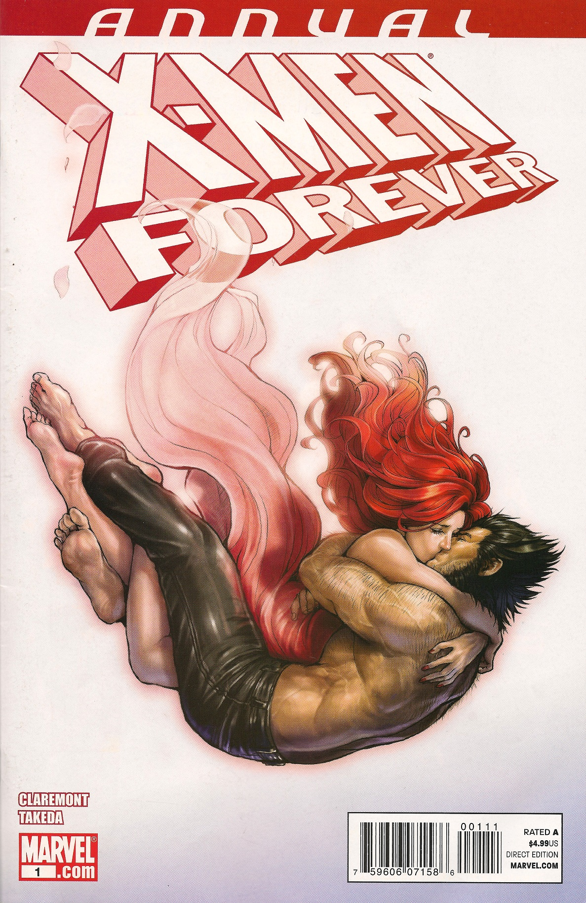 X-Men Forever Annual Vol 1 1