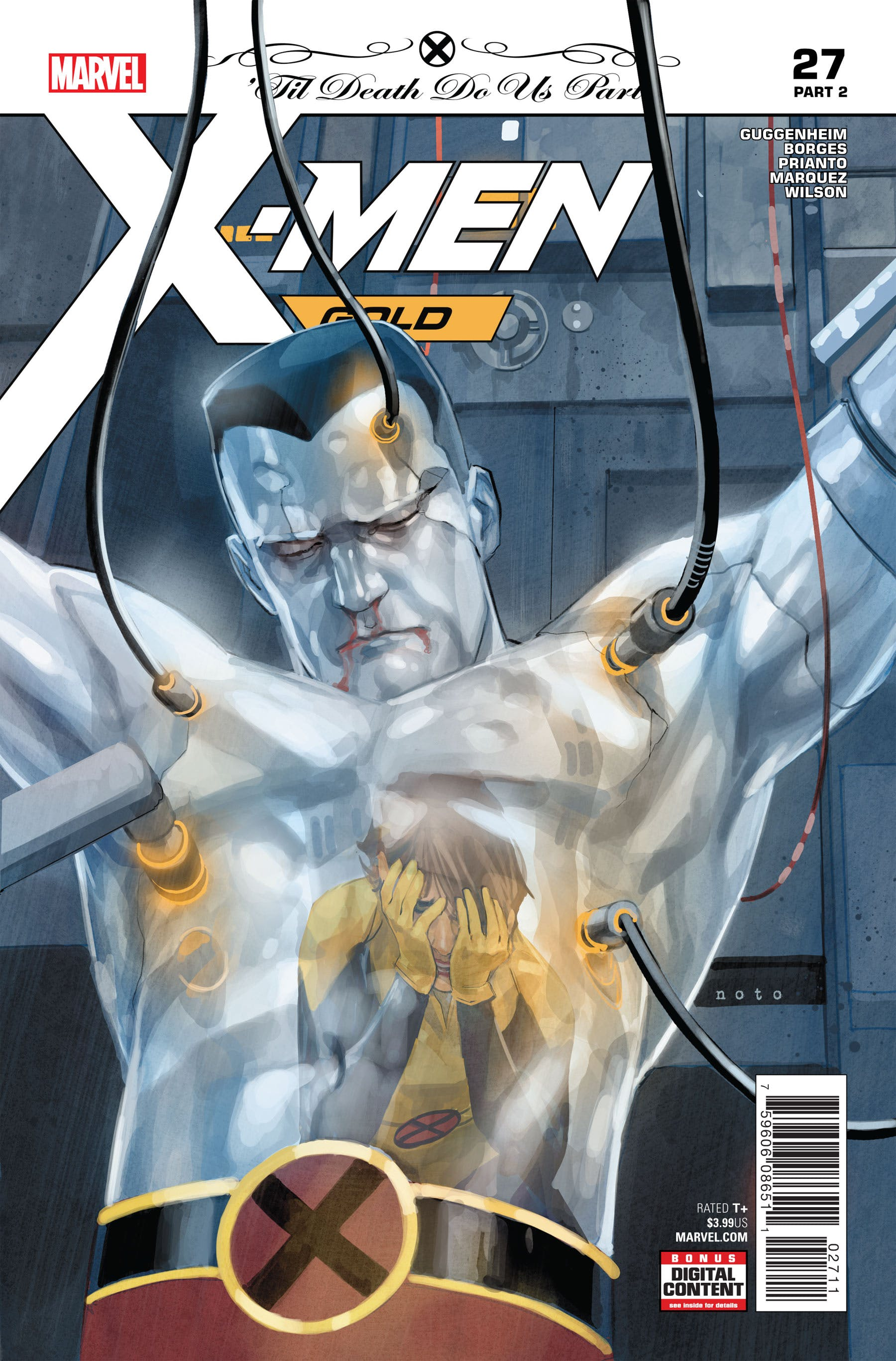 X-Men: Gold Vol 2 27