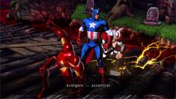 Avengers (Earth-30847) from Ultimate Marvel vs. Capcom 3 001.png