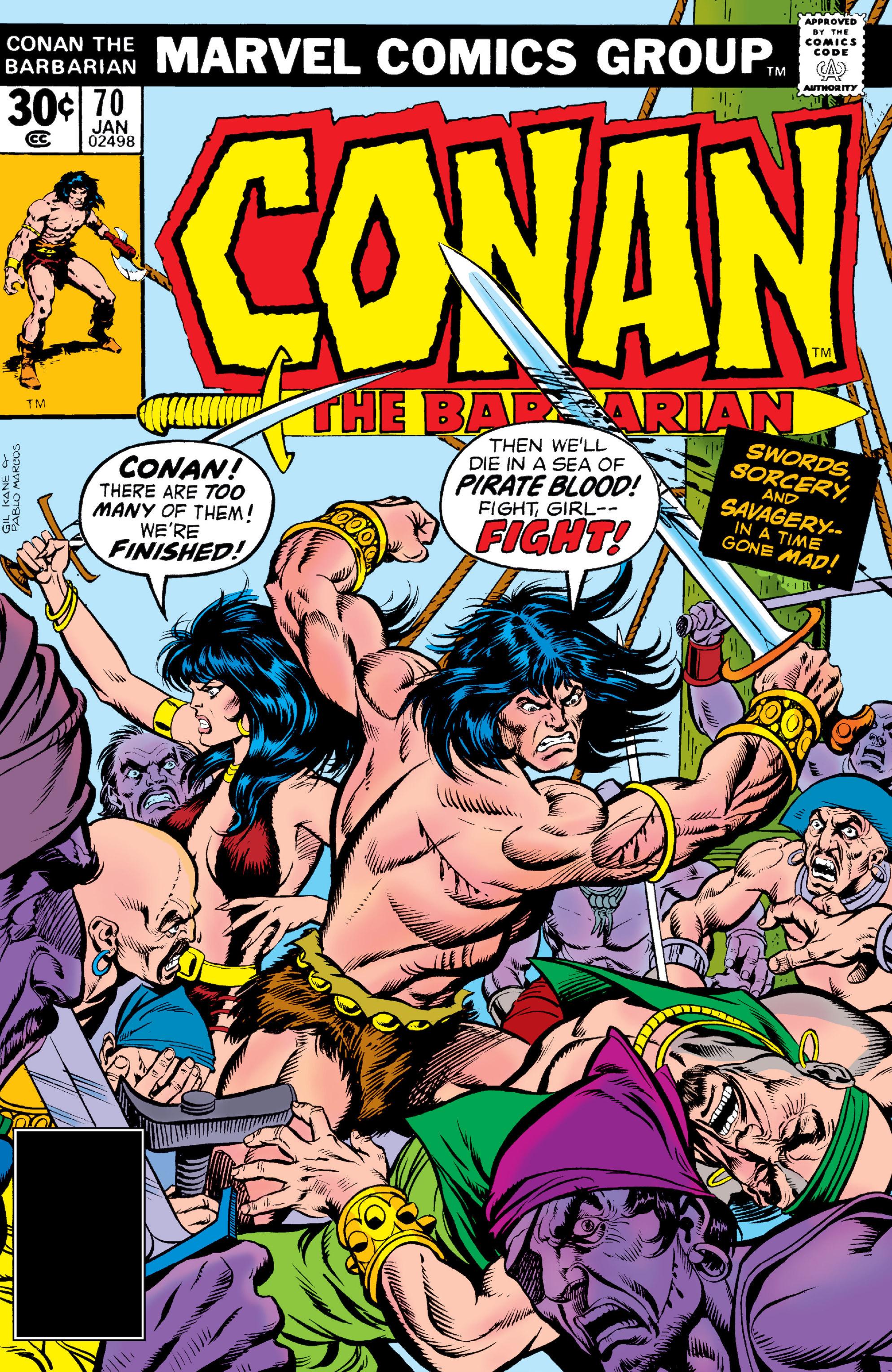 Conan the Barbarian Vol 1 70