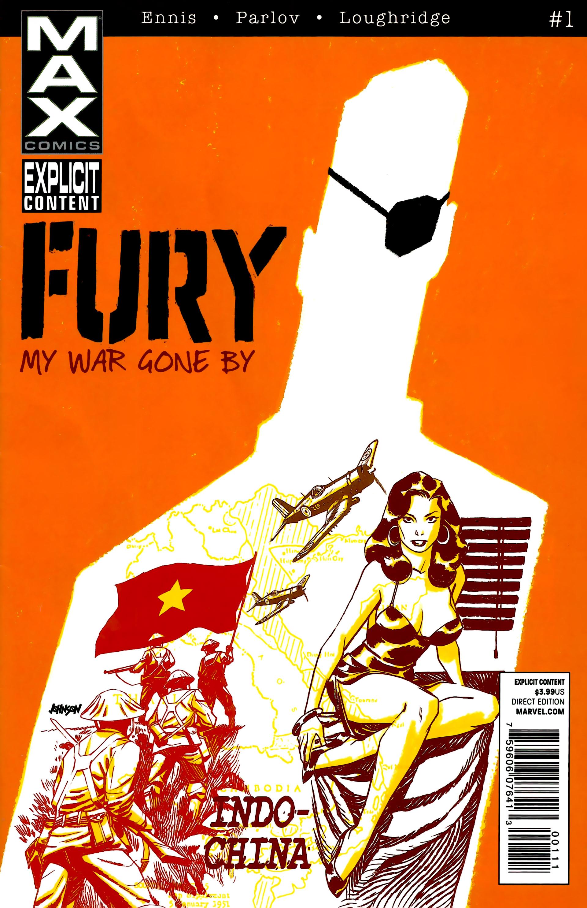 Fury: MAX Vol 1 1