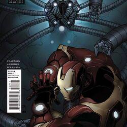 Invincible Iron Man Vol 1 502