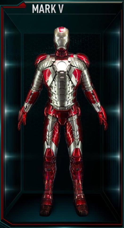 Iron Man Armor MK V (Earth-199999)