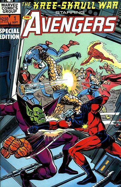 Kree-Skrull War Starring the Avengers Vol 1 1