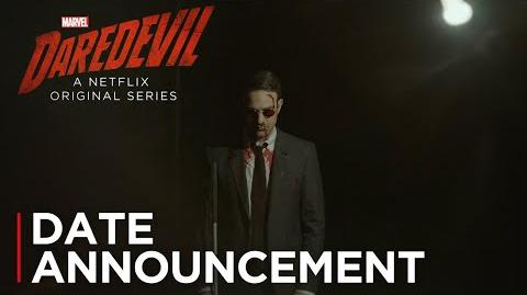 Marvel's Daredevil Season 3 Date Announcement HD Netflix