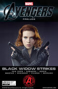 Marvel The Avengers Black Widow Strikes Vol 1 1