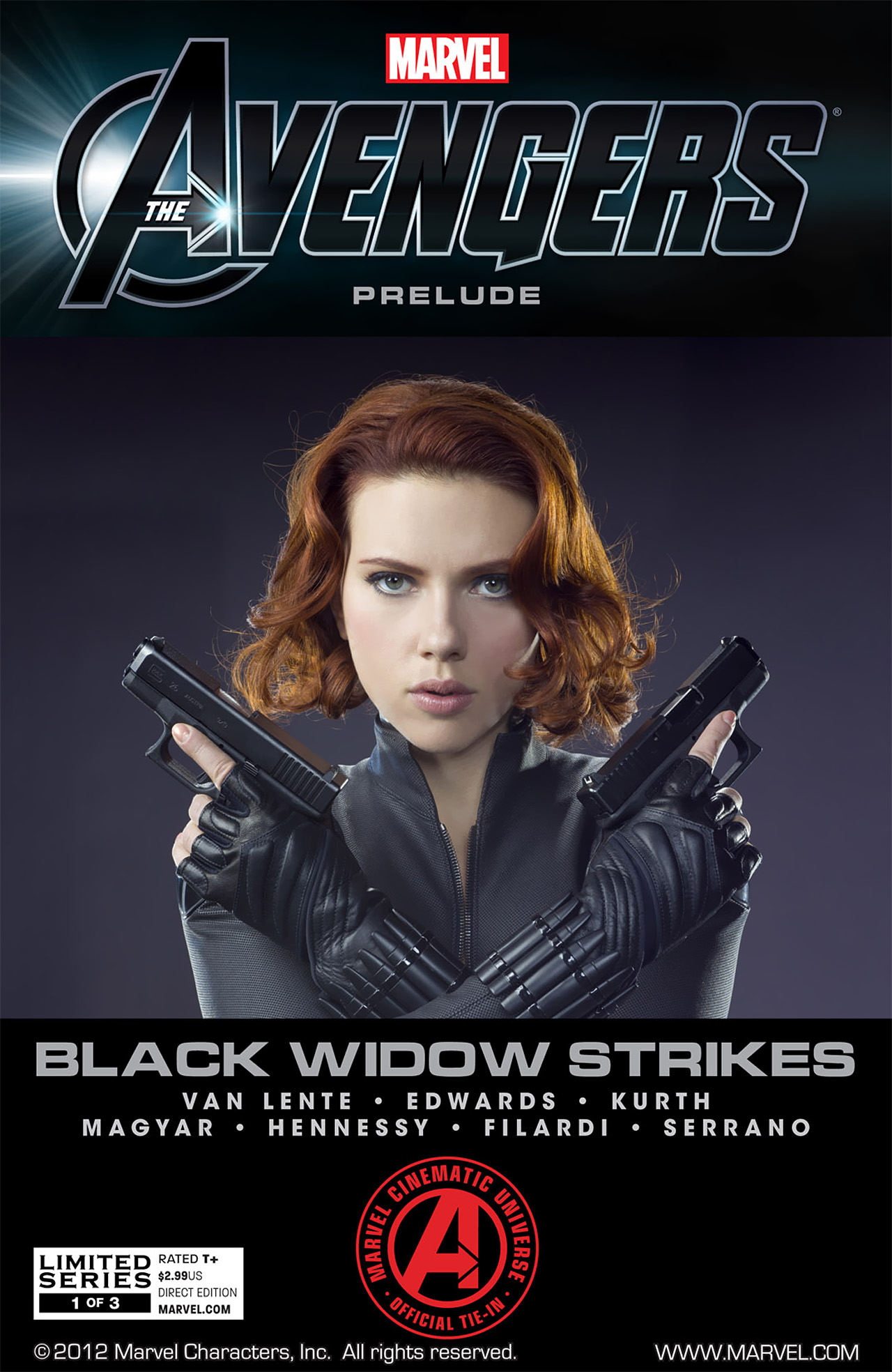Marvel: The Avengers: Black Widow Strikes Vol 1 1