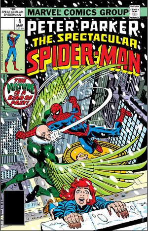 Peter Parker, The Spectacular Spider-Man Vol 1 4.jpg