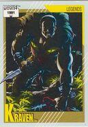 Sergei Kravinoff (Earth-616) from Marvel Universe Cards Series II 0001